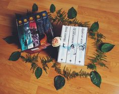 Do you like box-sets? I find them really budget-friendly because they're cheaper than buying the books separately.  #bookstagram #boxsets #themistborntrilogy #heroesofolympus #rickriordan #brandonsanderson