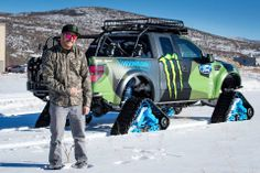 #Fotos de la Ford F-150 RaptorTrax de #KenBlock ... #AutoBildMexico http://autobild.com.mx/exclusivas/f-150-raptortrax-ken-block/