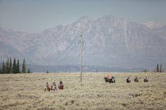 Jackson Hole Wedding | Jackson Hole Wedding Photographer | Teton Mountains | Wedding Party Activities | Lost Creek Ranch | Lost Creek Ranch Wedding