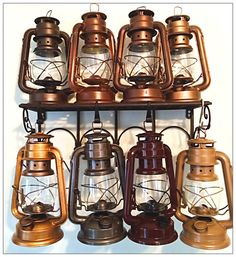 Sale 10 Rustic Railroad Lanterns Each Custom by RecycledRevival