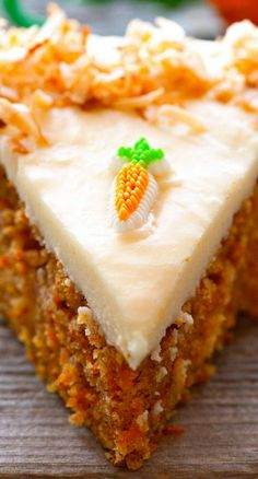 Scrumptious Carrot Cake with Cream Cheese Frosting Recipe ~ Make the perfect Carrot Cake that is so scrumptious and dreamy – topped with the most amazing Cream Cheese Frosting.