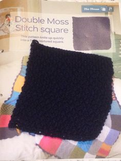 Issue 28 - Double miss stitch square