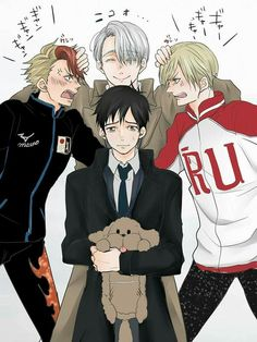 Read los celos de Victor ♡♡♡ from the story Imágenes yuri on ice!(YAOI/BL) by (melppopy) with 815 reads. All Out Anime, Anime Guys, Yuri Plisetsky, Comic Manga, Manga Anime, Victor Y Yuri, Yuri On Ice Comic, Yuri!!! On Ice, Katsuki Yuri