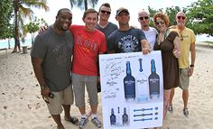 Launch Day. Kenny Chesney's Blue Chair Bay Rum.