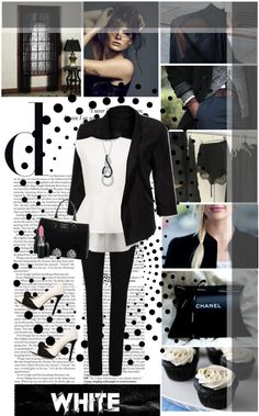 """Black or white world. It doesn't matter I love you the same"" by miss-raspberry-92 ❤ liked on Polyvore"