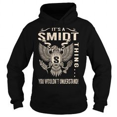 Cool Its a SMIDT Thing You Wouldnt Understand - Last Name, Surname T-Shirt (Eagle) T shirts