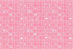 Westfalenstoffe+-+Naturstoff+-+Hähnchen+rosa+von+Stoff'l+-+FEINES+FÜR+KINDER+auf+DaWanda.com