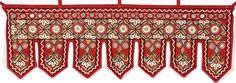 Hand-Embroidered Paako Toran from Kutch with Mirrors Fabric Wallpaper, Pattern Wallpaper, Cloth Flowers, Roomspiration, Indian Embroidery, Beautiful Patterns, Handicraft, Arts And Crafts, Textiles