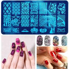 10 Styles DIY Nail Art Image Stamp Stamping Plates Manicure Template Tool New