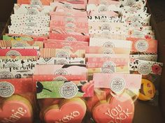 Packaged Valentine's Day Cookies by @cookiesbykatewi #valentinesday #sugarcookies #royalicing
