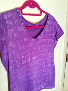 blue gel elmers glue before sticking shirt in dye