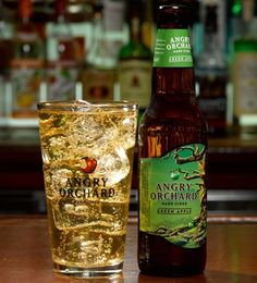 KISS ME I'M ANGRY Ingredients: 6 oz Angry Orchard Green Apple 1 oz Irish whiskey ½ oz amaretto Directions: In a pint glass, add ice, whiskey, and amaretto. Pour Angry Orchard Green Apple to the top and stir.