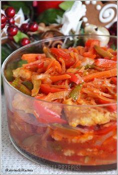 Ryba po japońsku Shellfish Recipes, Seafood Recipes, Cooking Recipes, Fish Dishes, Seafood Dishes, My Favorite Food, Favorite Recipes, Vegan Junk Food, Seafood Salad
