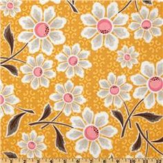 Daisy Cottage Large Floral Daisy Yellow