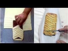 Envuelve Una Tableta De Chocolate Con La Masa Y Crea Un Dulce De Sabor Increible - MiraQueVideo.com