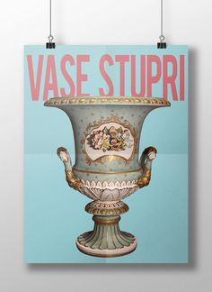 Stupid Vase Poster DIGITAL PRINTABLE poster by StudiousCrafts