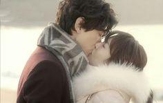Gentle kiss...