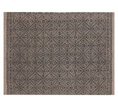 VERRA TILE PRINTED RUG  9 x 12 $999  Made from recycled plastic (PET)