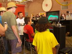 Fans playing a demo version of Never Alone at IndieCade 2014. #neveralonegame #indiecade #losangeles #gaming