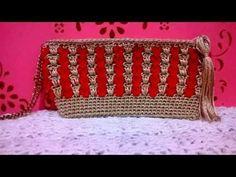 Bolsa Clutch Encanto em crochê - YouTube
