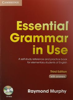 Essential Grammar in Use Third edition is a fully updated version of this best-selling grammar title. Now in full colour, with new content and even more exercises, this updated edition retains all the key features of clarity and ease-of-use that have made the book so popular with learners and teachers alike. Designed to be flexible, the Third edition is available both with and without answers, making it ideal for self-study, but also suitable for reinforcement work in the classroom.