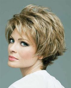 hairstyles for women over 50 | Short hairstyles for women over 50 are the ideal choice, easy to style ...