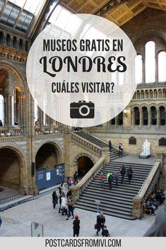 Una guía rápida de los museos gratis en Londres para que elijas cuáles visitar en tu viaje #Londres #Ingalterra #museos #gratis #Europa