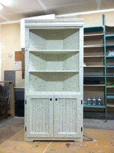 My own weathered corner hutch :) | Do It Yourself Home Projects from Ana White