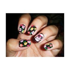 fuckyeahprettynails ❤ liked on Polyvore featuring beauty products, nail care, nails and nail art