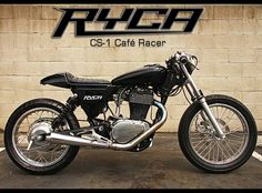 Cafe racer kit. Seems like it would be fun to build one.