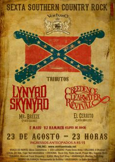 Tributo à Lynyrd Skynyrd e Creedence Clearwater Revival no Ventuno Pub - Engeplus Notícias