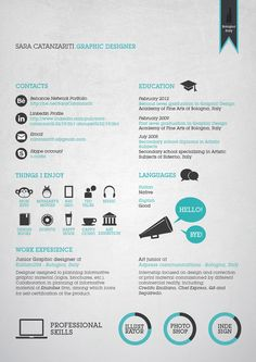 52265d9214428e1d61ca681d760b97d1 20 Cool Resume & CV Designs