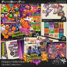 """Happy Halloween """"Bundle Collection"""" by Paty Greif"""