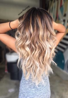 Blonde Ombre Hair Color - Best Hair Color for Dark Skin Women Check more at http://www.fitnursetaylor.com/blonde-ombre-hair-color/