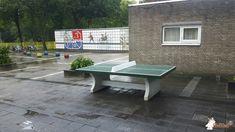 Pingpongtafel Groen bij Paus Joannesschool  in Zaandam