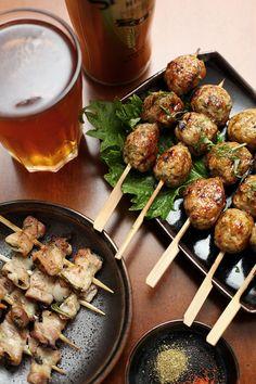 2 Recipes: Pork Belly Shiso Basil Skewers – Tori Tsukune (Japanese Grilled Chicken Meatballs)