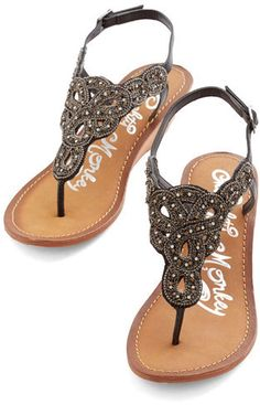 Sparkle sandals? Yes, please!