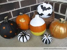 Pumpkin Painting: 31 Days of Homemade Holidays