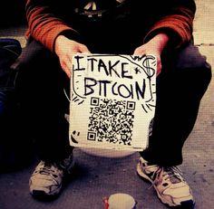 I Take Bitcoin