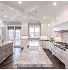 luxury kitchen design ideas we'd copy if money were no object Küchen Design, Design Case, Design Ideas, Layout Design, Tile Layout, Design Elements, Dream Home Design, Home Interior Design, Luxury Kitchen Design