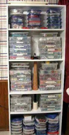 This looks like my bead storage. & 182 best Bead storage ideas/ plans images on Pinterest | Bead ...