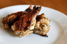 Grilled Rosemary Chicken Wings