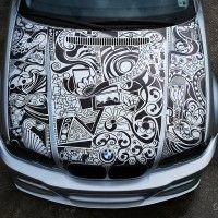 BMW & a Sharpie