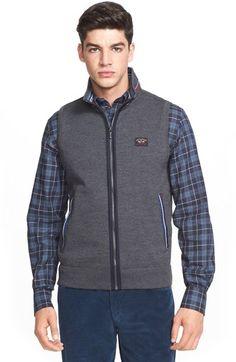 Paul & Shark Zip Front Wool Vest