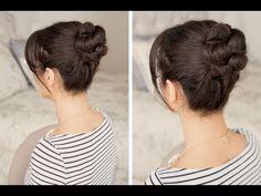 How to: Braided Bun Hair Tutorial