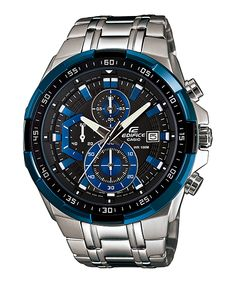Casio Edifice - Chronograph EFR-539D-1A2V (54.1 × 49.5 × 11.7 mm) Total weight 185 g