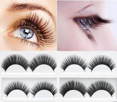 a7ff0e74543 hot sale 1 pairs natural false eyelashes fake lashes long makeup 3d mink  lashes extension eyelash