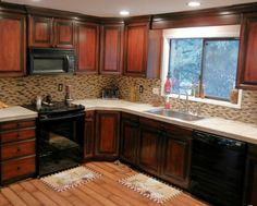 Ideas for kitchen split level home on pinterest split for Split level kitchen remodel before and after
