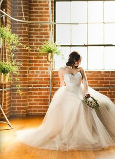 Lace and tulle ballgown from  @emmaandgrace13