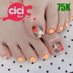 i do nails Pedicure Designs, Pedicure Nail Art, Toe Nail Designs, Toe Nail Art, Pretty Toe Nails, Cute Toe Nails, Karma Nails, Art Deco Nails, Feet Nail Design